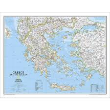 greece map political greece political map national geographic store