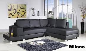 Large Black Leather Corner Sofa Black Leather Corner Sofa With Ideas Gallery 25742 Imonics