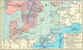 Pacific Region Map Map Of The Baltic Regions 1386 1560