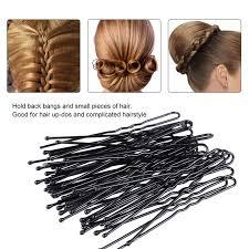 bobbie pins 300pcs pro hair u bobby pins u shape black hairpins no slip