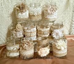 Mason Jar Wedding Centerpieces The 25 Best Mason Jar Burlap Ideas On Pinterest Jars Jar