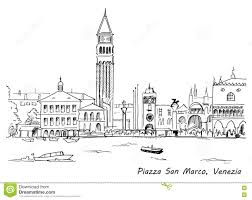 piazza san marco with campanile and doge palace venice italy