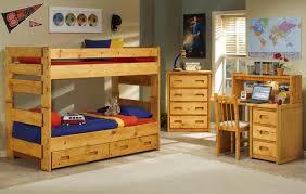 trendwood bunkhouse wrangler student desk and hutch furniture
