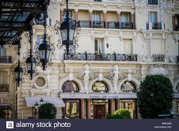 Monte Carlo Lights Ornamental Lights On Entrance To Casino Monte Carlo Monaco Stock