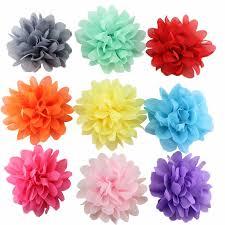 hair accessories malaysia hair accessories chiffon flower hair clip 11street