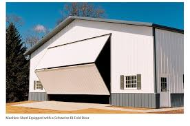 How To Build A Pole Barn Shed Roof by Bifold Barn Doors Pole Barn Doors Schweiss Folding Barn Doors