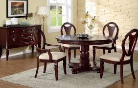 cherry kitchen table set round cherry wood dining table dining room ideas
