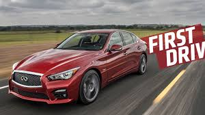 lexus isf vs infiniti q50 the 2016 infiniti q50 proves two turbos and 400 hp make everything