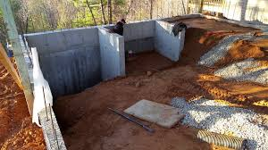 backfilling garage retaining walls and compacting youtube