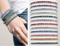 birthstone bracelets for new birthstone bracelets and earrings for 2016 touchstone