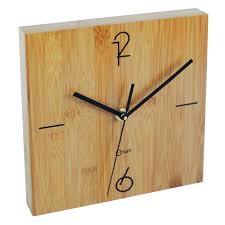 Grande Horloge Murale Carrée En Bois Vintage Achat Horloge Murale Achat Vente Horloge Murale Pas Cher Cdiscount