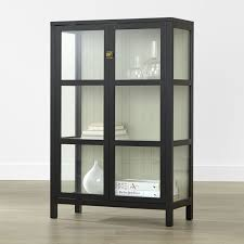 small black cabinet with doors glass display cabinets for living room coma frique studio