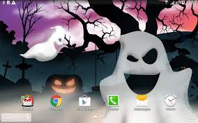halloween android background halloween night live wallpaper android apps on google play
