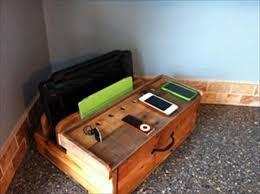 Build Your Own Charging Station Diy Pallet Charging Docking Station Pallet Furniture Diy