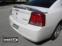 2010 dodge charger spoiler 2006 2010 dodge charger factory daytona srt8 style rear wing spoiler