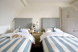 two beds with one shared headboard cottage boy u0027s room