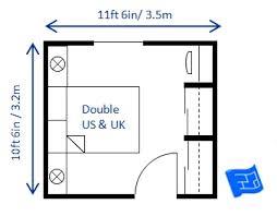 bedroom sizes in metres standard double bedroom size 3 jpg