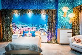 bedroom blue grey wall paint color dark wooden floor white