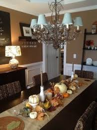 Dining Room Table Decor Ideas Fall Dining Room Table Dining Room Table Mosaics And Holidays