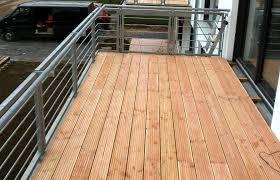 holzdielen balkon querholz ihre zimmerei in köln