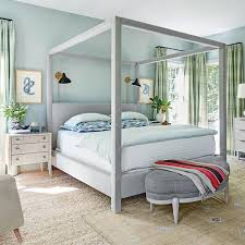 Modern Blue Bedrooms - the goodbye blank slate