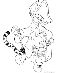 disney halloween coloring pages disney u0027s world of wonders