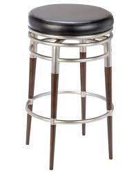 vintage black aluminum patio round backless counter stools height
