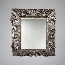 Meuble Louis 13 Louis Xiii Style Mirror In Carved Wood With Bevelled Glass
