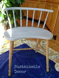 sustainable decor dipped leg chair upcycling furniture with
