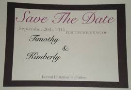 Diy Save The Dates Has Anyone Attempted Diy Save The Dates Weddingbee
