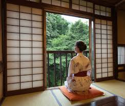 studying nature from a traditional japanese ryokan room tochigi