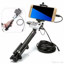 1m 3 5m 5m 7mm selfie stick monopod handheld 2mp wireless wifi