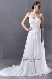 robe mariã e fluide robe de mariee bustier empire fluide et pas cher mariage