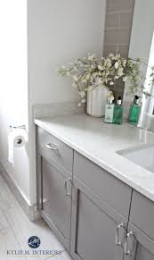 Wainscoting Bathroom Ideas by Bathroom Cabinets Grey Bathroom With White Wainscoting Gray