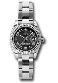 oyster bracelet images Rolex datejust lady steel fluted bezel oyster bracelet jpg