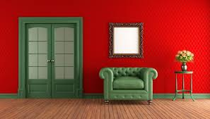 red and green decor apartments i like blog