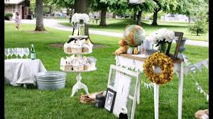 popular outdoor baby shower decor ideas