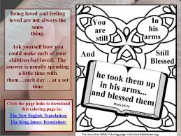free bible coloring pages children divorce