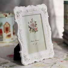 bureau romantique blanc 1 pc romantique blanc de bureau cadre photo home decor famille bébé