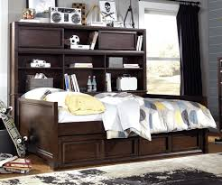 bookcase daybed with storage daybed bookcase daybed full teddy guest bed with drawers cherry by