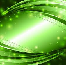 abstract green lights background vector free vector eps10