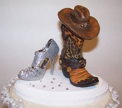 cowboy cake topper western cake topper wedding cake topper cowboy boot and
