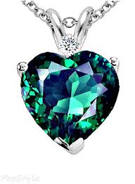 green heart necklace images 50 elegant diamond heart necklaces for women style behind the scenes jpg