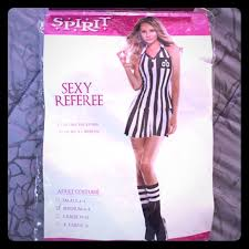 Ref Costumes Halloween 57 Dresses U0026 Skirts Spirit Halloween Referee Costume