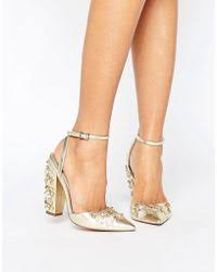wedding shoes asos lyst shop wedding and bridal shoes lyst