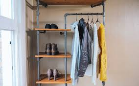 Galvanized Pipe Clothes Rack How To Make A Gas Pipe Storage Solution Youtube