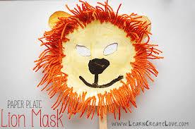 lion mask for kids lion mask craft