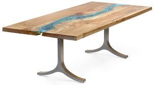 Table De Cuisine En Verre Avec Rallonge by Table Verre Et Bois Design