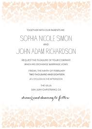 printable wedding invitation print ombre free printable wedding invitation suite