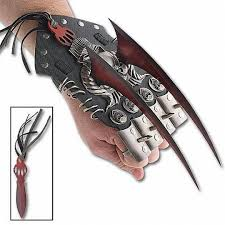 cool claws spiked claws w knuckle guards diff weapons